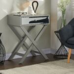 grey accent table modern amazing fretwork threshold gray attractive furniture design pertaining west elm wood bench black bedside bunnings swing set wichita best for coffee narrow 150x150