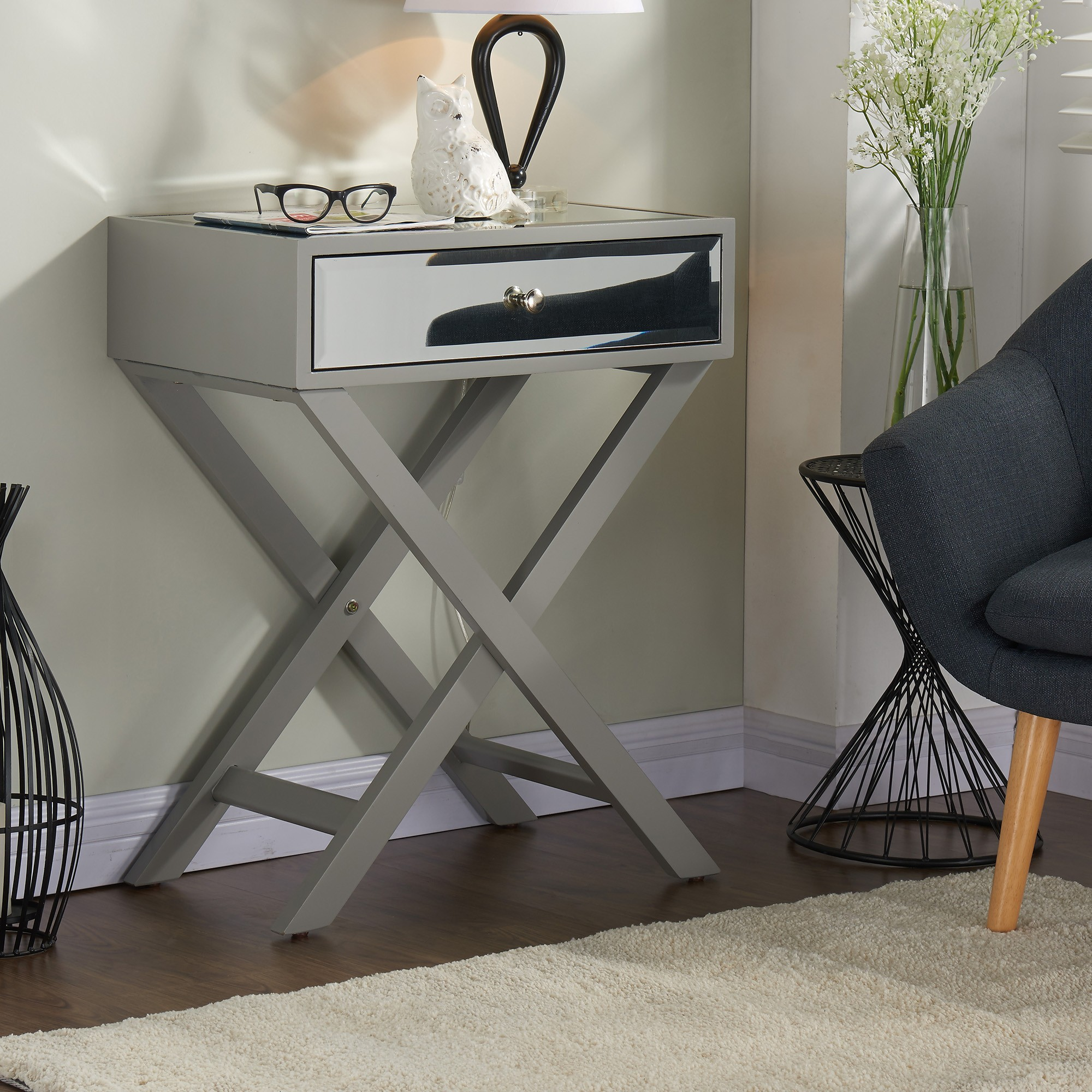 grey accent table modern amazing fretwork threshold gray attractive furniture design pertaining west elm wood bench black bedside bunnings swing set wichita best for coffee narrow