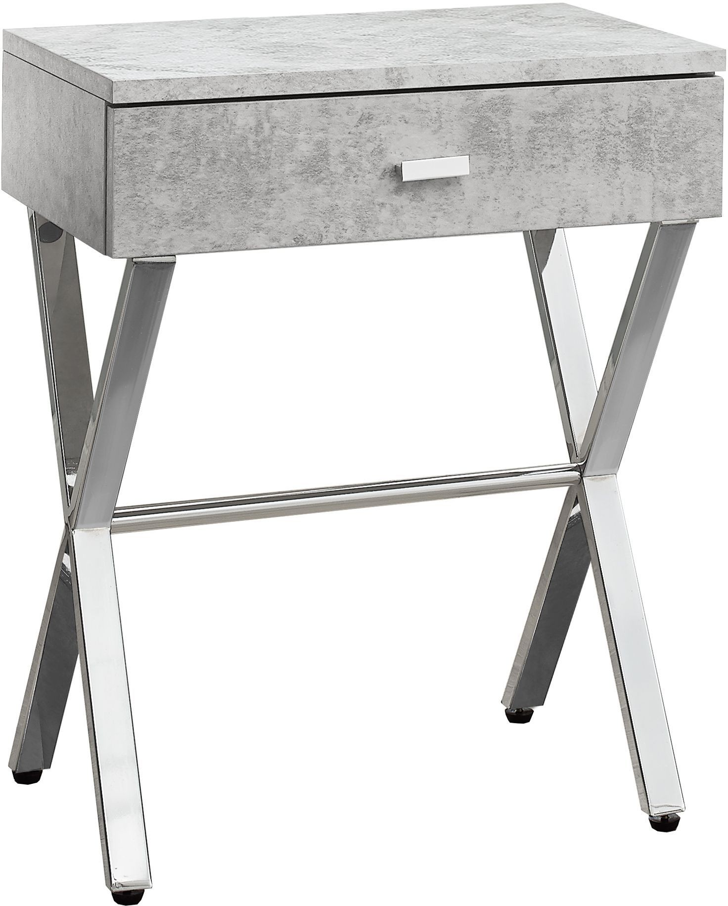 grey cement accent table from monarch coleman furniture granite top coffee and end tables garden white bedside plastic cloth storage chest seat ikea drop leaf pier made