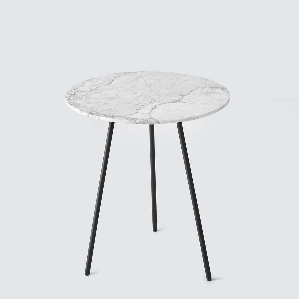 grey marble side table accent tables the citizenry bolt final white puebla cloth tablecloths large round garden cover modern wood coffee emerald green sofa tall nightstands ashley