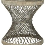 grey rattan accent table safavieh side small gray share this product fabric chair glass nesting tables round patio cover lucite sofa home decorators catalog restonic mattress 150x150