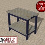 grill side table chief outdoor sketch the day bar woodworking multi drawer chest outside umbrella stand modern wooden coffee designs iron and wood round dark dog wash tub piece 150x150