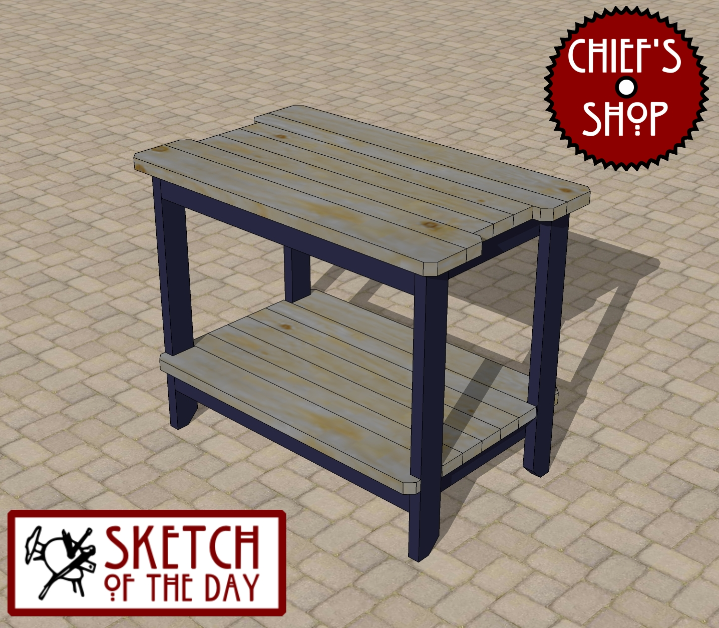 grill side table chief outdoor sketch the day bar woodworking multi drawer chest outside umbrella stand modern wooden coffee designs iron and wood round dark dog wash tub piece