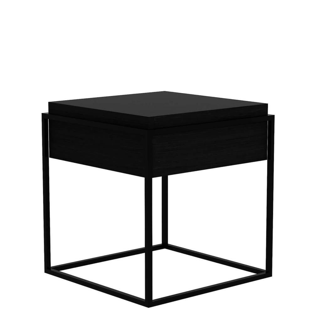gustav oak accent table small modern relik black target wood side bedroom chandeliers tall decorative cabinet pottery barn entry bench marble top with drawer lounge room furniture