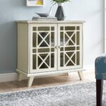 gwen fretwork accent table walker edison blue silver sofa slim side ikea outdoor drum small industrial end metal entryway magazine coffee legs furniture roland stool white tray 150x150