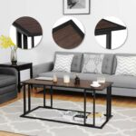 gymax coffee cocktail accent end table side sofa living room essentials furniture free shipping today target white sea themed bedroom jcpenney tables contemporary outdoor chairs 150x150