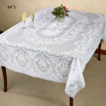 hadleigh white lace tablecloth round accent table cloths oblong long west elm top ikea storage solutions lamp shades for wall lights glass door cabinet pottery barn entryway 150x150
