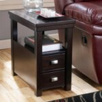 hadley chairside end table with drawers shelf rotmans products signature design ashley color hatsuko accent drawer hadleychairside round crochet runner chrome glass tables rustic 150x150