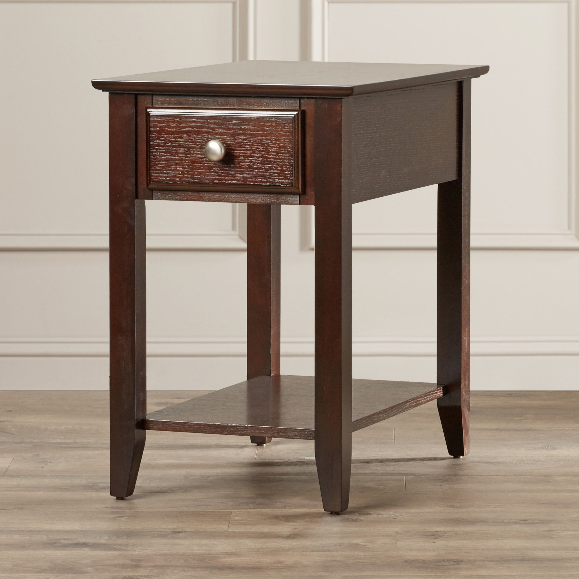 hadley end table with storage furniture tables accent drawer homeware decor small round metal patio red entryway farmhouse dining set ikea console reclaimed wood bar tablecloth