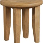 hagen tan teak outdoor side table end tables brown light tbl furniture wood brass small antique drop leaf value magazine stylish coffee white patio chairs yellow mercury glass 150x150