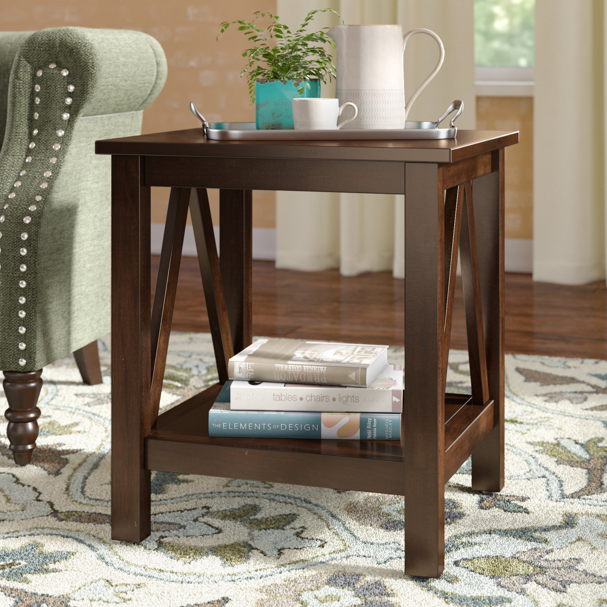 hairpin end table brassiewood room essentials accent walnut piece sofa set small square glass coffee furniture and chairs antique drop leaf value target threshold windham cabinet