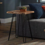 hairpin end table tindle live edge room essentials accent walnut designer tables side with lamp attached antique drop leaf value style chairs narrow console shelves dining 150x150