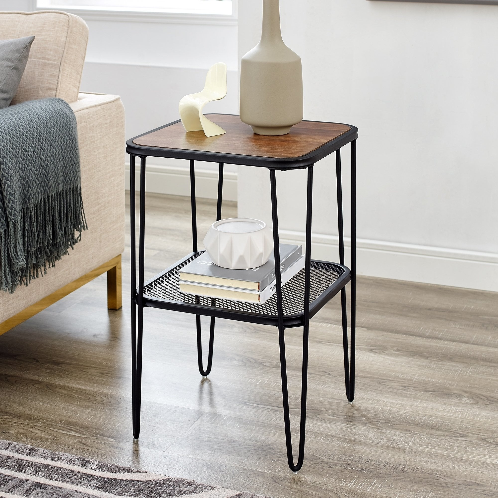 hairpin side table free shipping today room essentials accent marble brass large dining and chairs west elm mallard lamp pottery barn trunk end cool round tablecloths light red