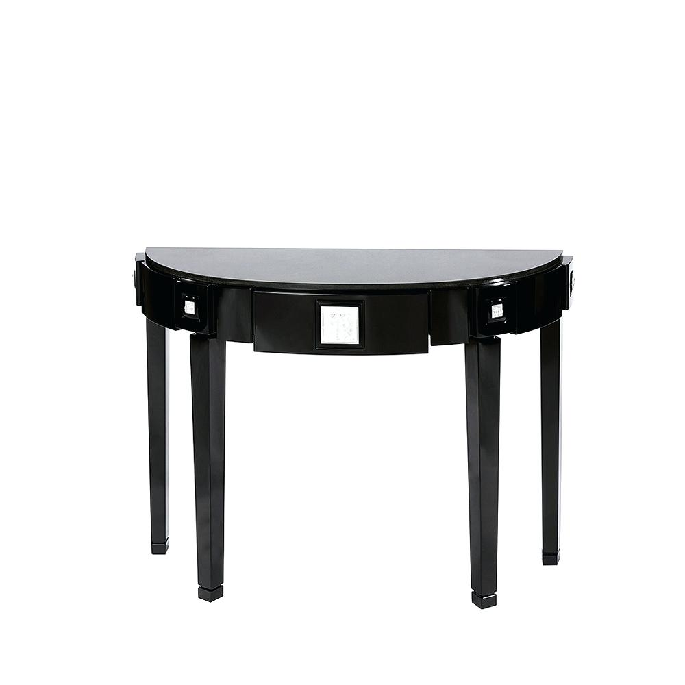 half moon accent table kcscienceinc small metal black side tables for living room movable kitchen island tweed furniture oil rubbed bronze essentials mirror console cabinet modern