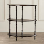 half moon accent table ladoga tier end winsome daniel with drawer black finish quickview monarch hall console west elm abacus floor lamp skinny glass two nesting tables narrow 150x150