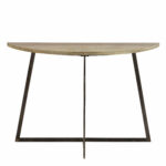 half moon accent table mckee console bombay company marble top cloth runners small office desk battery operated light bulb fixture hampton bay patio round nightstand tablecloth 150x150