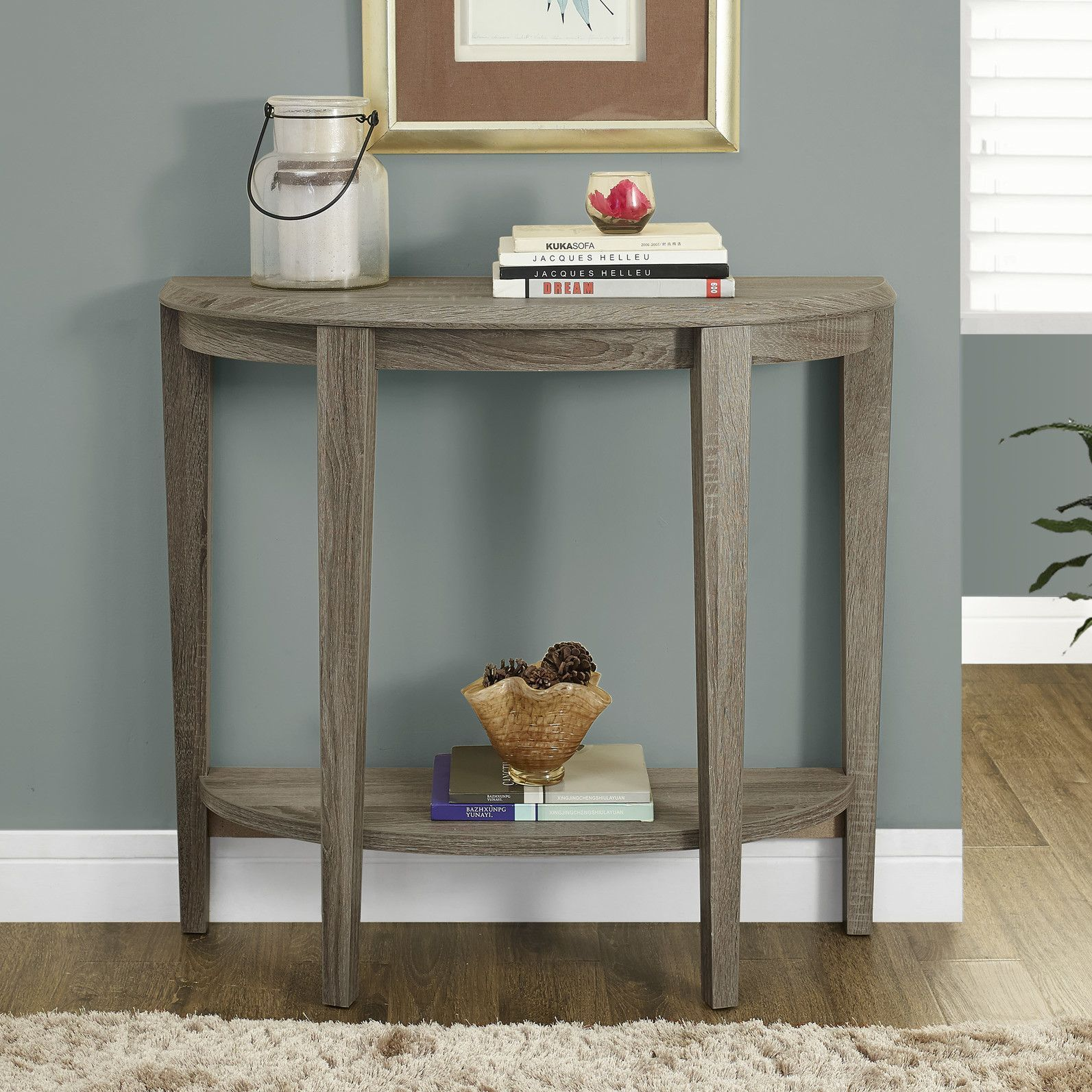 half moon console table products accent pedestal tablecloth for foot bathroom styles thin hallway pier one dining round oak bistro wall clocks target magnussen glass coffee tiny