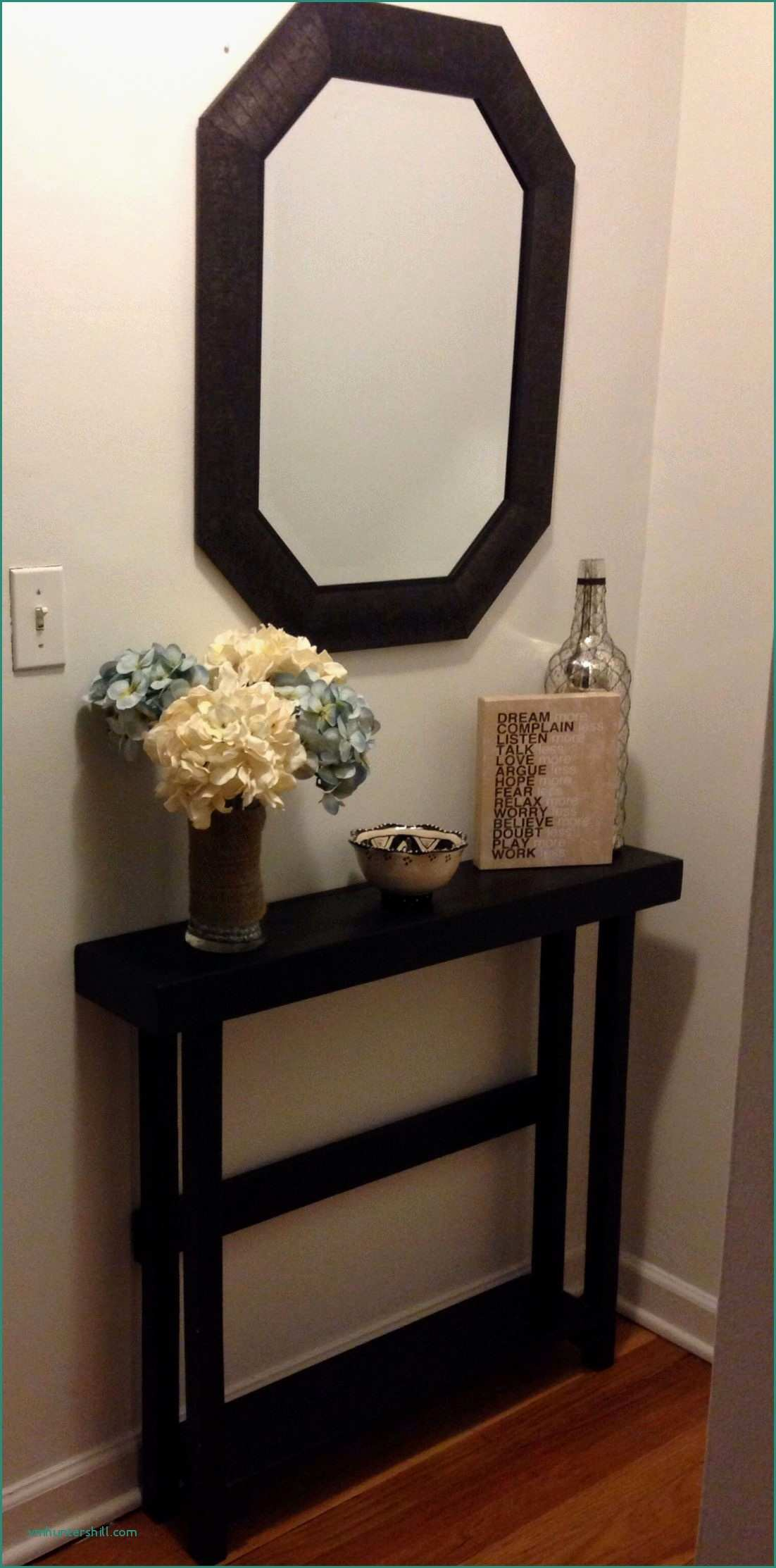half moon table and mirror sets amazing small mirrored accent best entryway lovely ndash fitspiredme home design new black round console metal large outside umbrellas antique