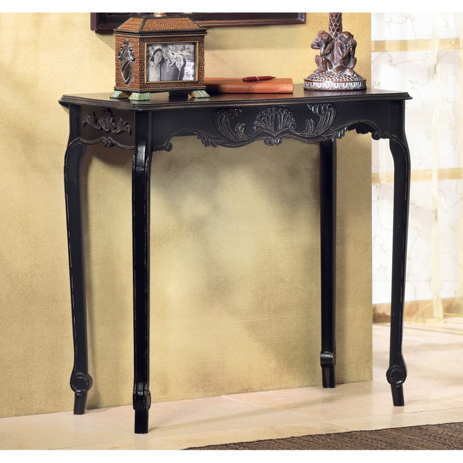 hall console table very small foyer narrow entry accent tables dark wood nightstand with drawers sofas for spaces ikea kids storage ideas farmhouse dining distressed coffee and