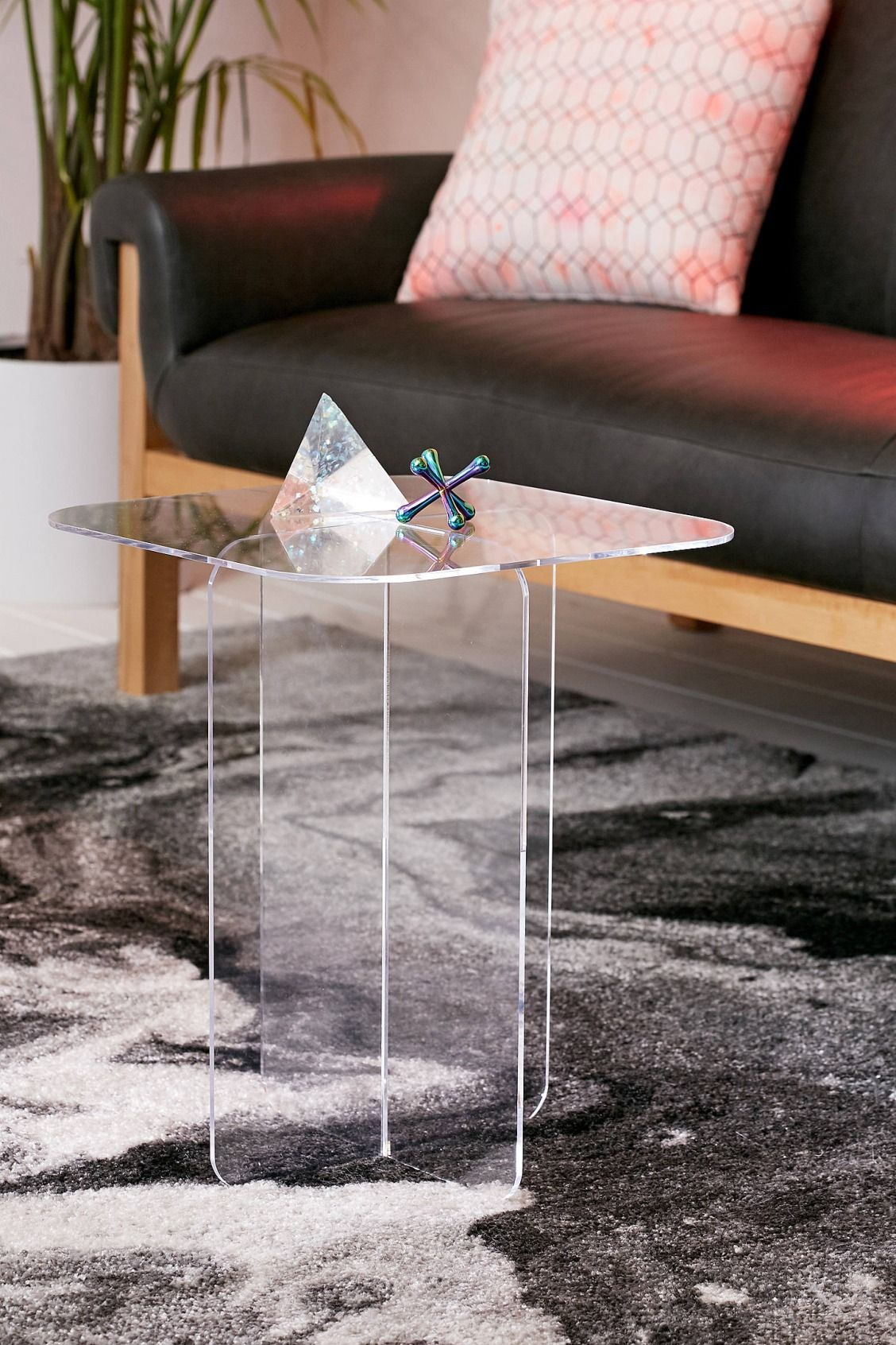 halvar acrylic side table decorate clear zella accent urban outfitters sofa center cherry finish end tables linens slate target bedroom furniture kids drum throne mango dining