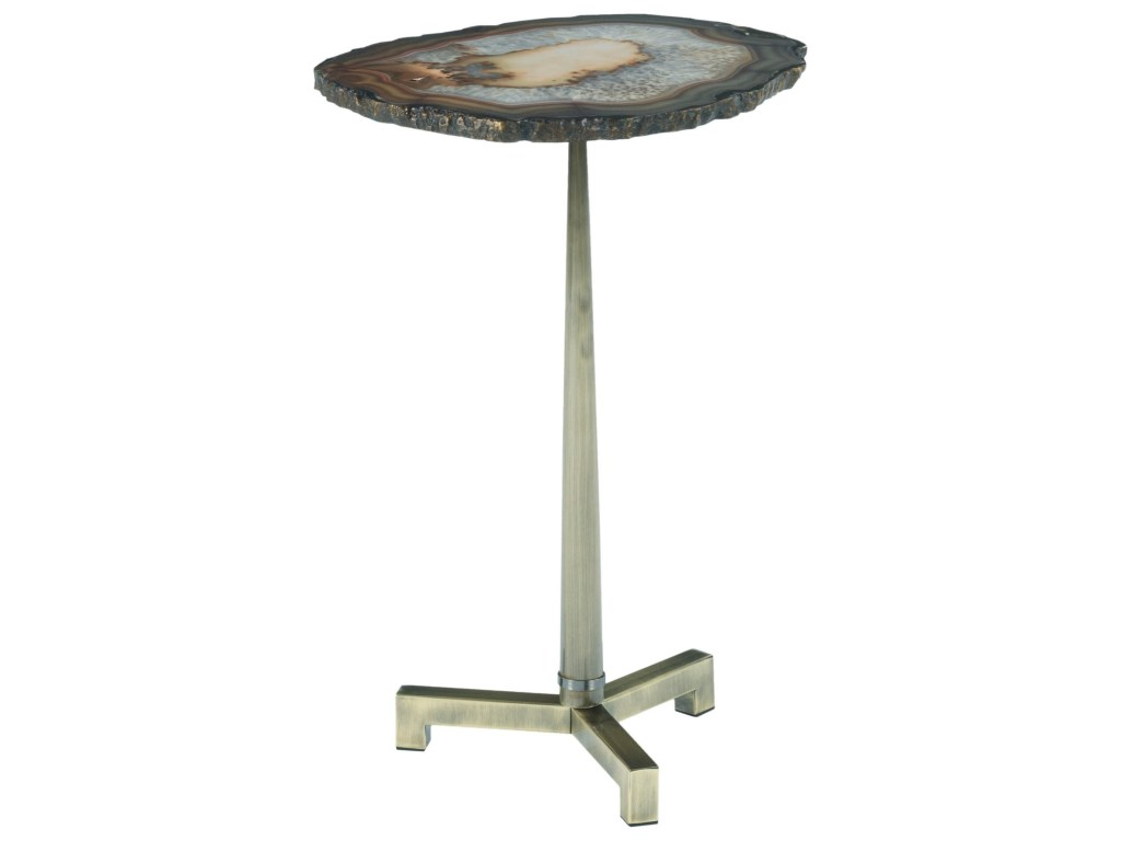 hammary agate accent end table with steel base howell furniture products color glass agateaccent parsons plexiglass coffee top gold decorative accessories inch high tables metal