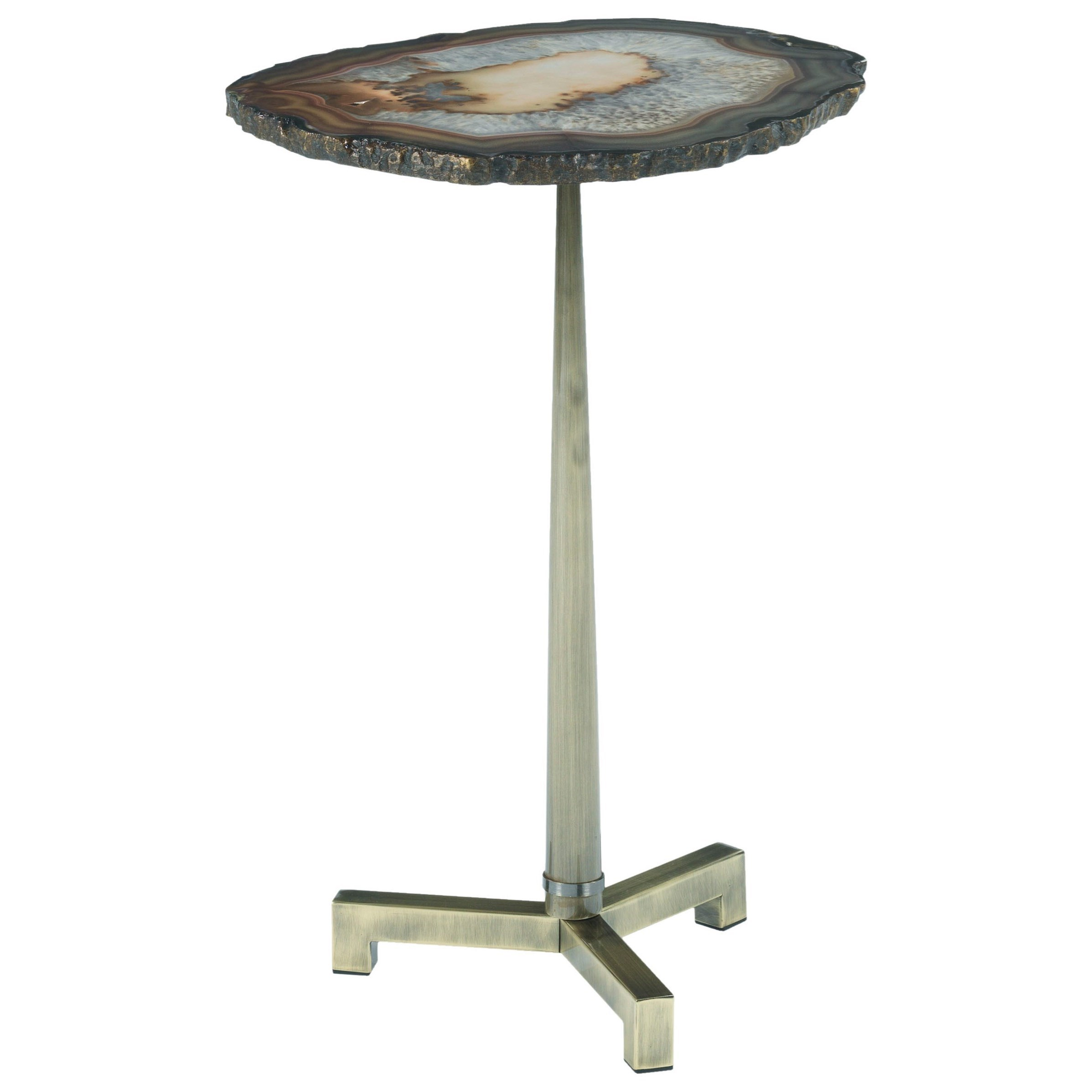hammary agate accent end table with steel base wayside furniture products color affordable leather sofa white glass nest tables turquoise pieces small round coffee stand gold drum