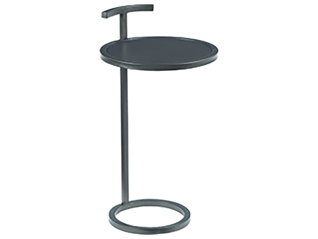 hammary hidden treasures contemporary round accent table howell products color black metal treasuresround white gloss nest tables marble coffee toronto glass replacement wood