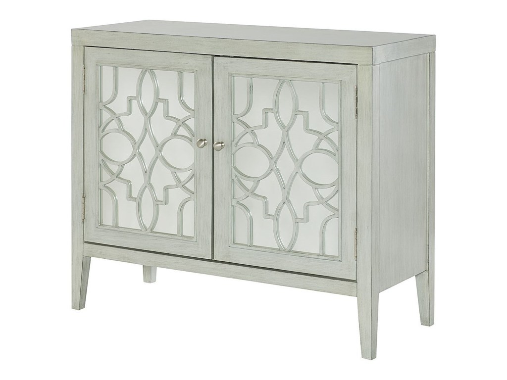 hammary hidden treasures glam mirrored door cabinet with products color fretwork accent table threshold fret work gill brothers furniture chests round drum occasional and chairs