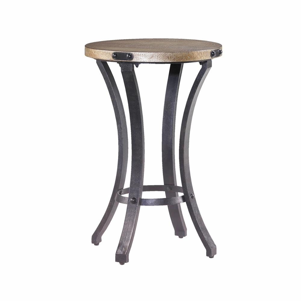 hammary hidden treasures round accent table hover zoom rattan outdoor furniture clearance aluminium placemats and napkins aluminum patio wood glass end tables garden drum antique