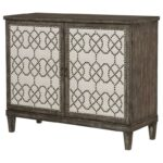 hammary hidden treasures rustic nailhead cabinet with adjustable products color accent table nailheads treasuresnailhead barn wood furniture stable target white wicker coffee inch 150x150