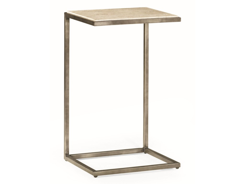 hammary modern basics rectangular accent table with bronze finish products color metal tables basicsrectangular coffee and end sets storage tier vintage oak wine cabinet