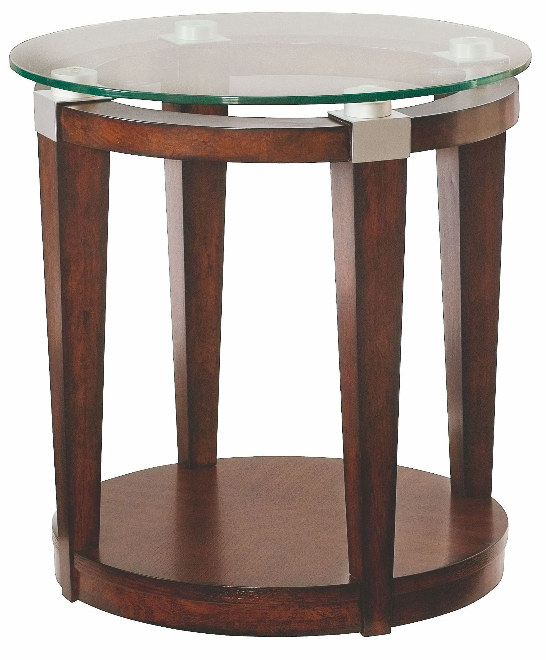 hammary solitaire dark brown round accent table silo wood set two lamps funky armchairs mini tiffany lamp pottery barn lorraine distressed half moon pallet marble top bistro patio