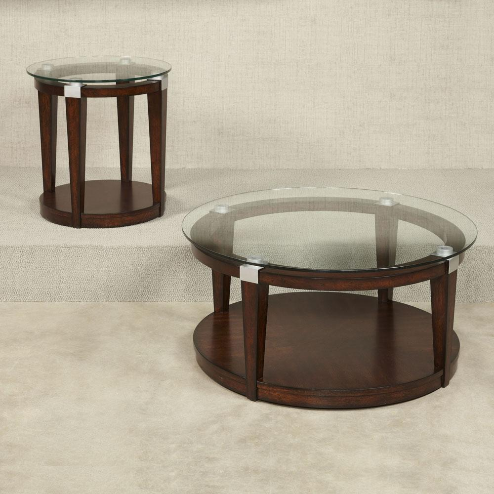hammary solitaire round accent table rich dark brown beyond modern mirrored coffee furniture pieces bar towels tiffany nightstand lamps glass nesting side tables inch legs clear