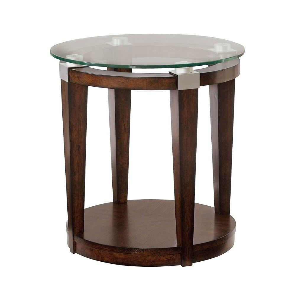 hammary solitaire round accent table rich dark brown beyond with drawer off white coffee and end tables counter height glass gold frame black bedside mirrored ikea short