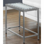 hammered metal accent table bizchair monarch specialties msp main silver our with gray and blue mosaic tile top antique drop leaf kitchen patio set clearance livingroom side 150x150