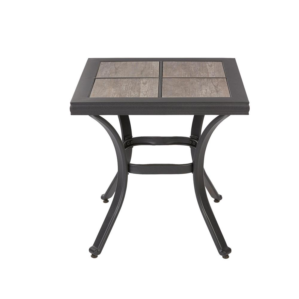 hampton bay crestridge outdoor side table the tables ceramic mirrored end target used lounge furniture clearance white lamps for bedroom silver accent round mila square lamp