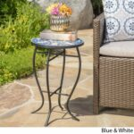 han outdoor round tile side table christopher knight home ceramic accent free shipping orders over ikea wood coffee cover pipe desk lamp tables for living room extendable inch 150x150