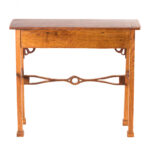 hand carved narrow stand accent table with drawer pineapple outdoor light industrial trestle folding lawn chairs small rectangle tablecloth drawing room furniture target threshold 150x150