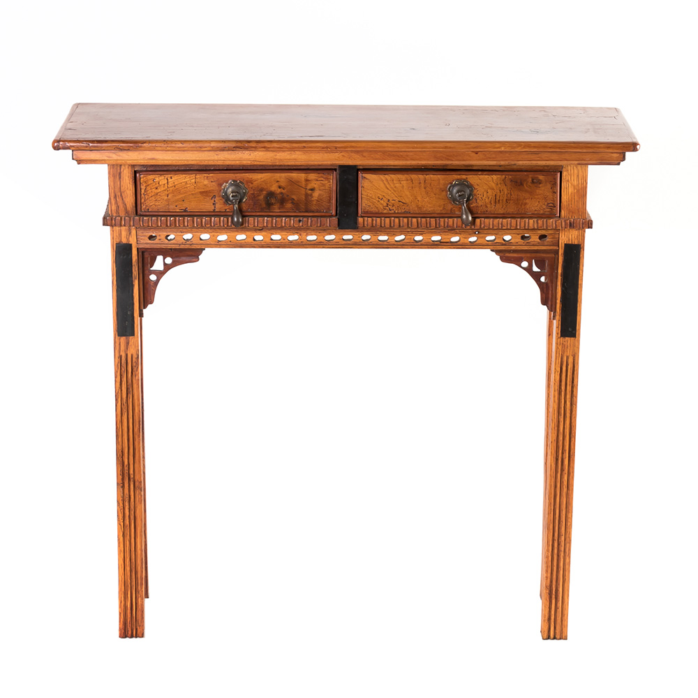 hand carved narrow two drawer stand accent table with decor tall end bedroom furniture farmhouse rustic small rectangle tablecloth lane kidney coffee tiffany lighting direct wall