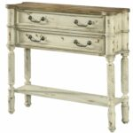 hand painted distressed antique white finish accent table chest tables chests free shipping today gold round end mid century square acrylic coffee outdoor furniture sunshine coast 150x150