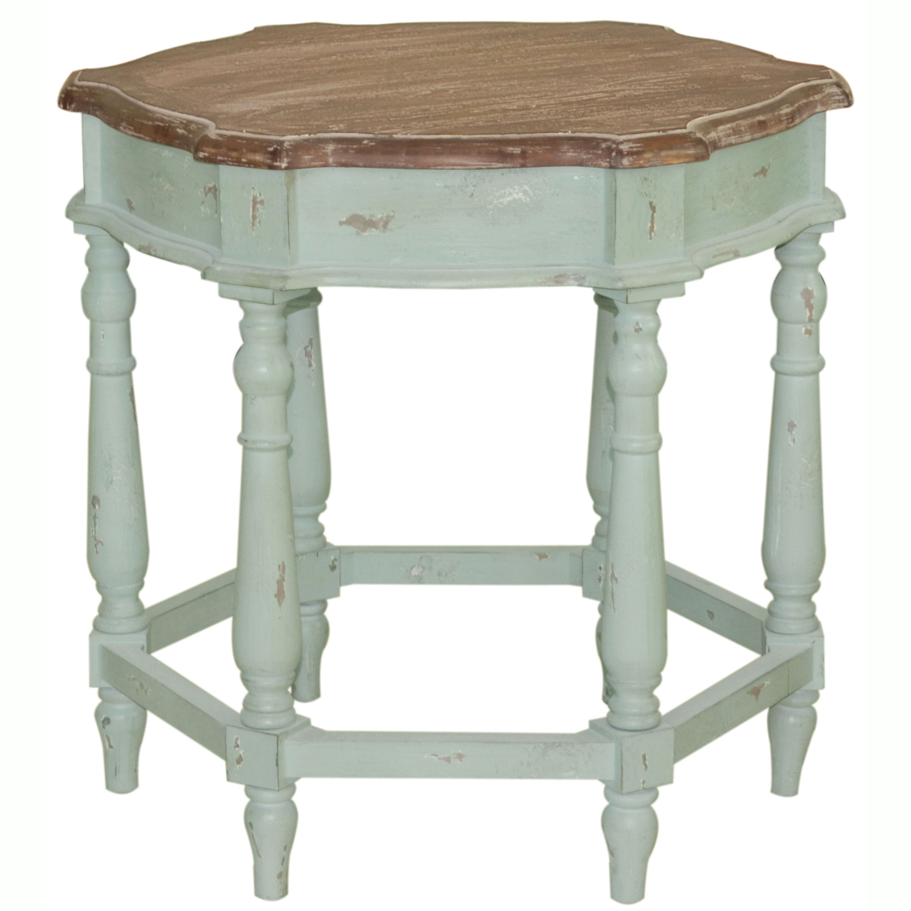 hand painted distressed pale blue finish accent table ping great chrome glass end tables console with shelves charcoal grey coffee pottery barn lamp black marble dining round