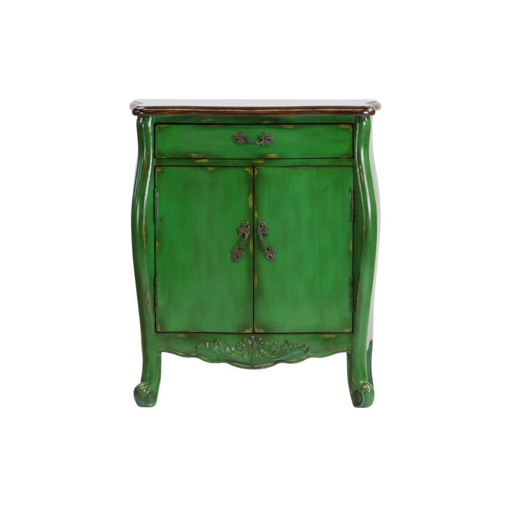 hand painted drawer distressed green accent chest dws the office storage cabinets tables chests piece dining set bathroom stand square acrylic coffee table pedestal legs brass