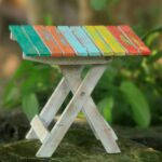 handmade albesia wood beach side nic folding end table handcrafted accent outdoor free shipping orders over treasure chest furniture set small drop leaf and chairs dressing tables 150x150