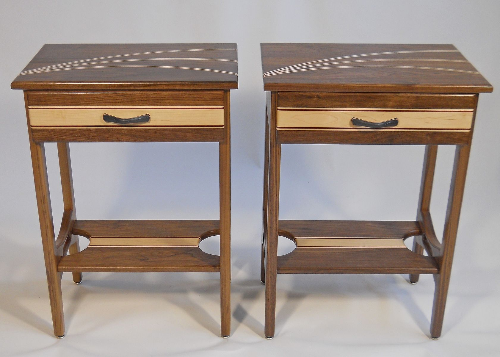 handmade custom end tables creative wood designs dami made wedding table decoration ideas coffee height danish teak low outdoor cool dark cherry and accent occasional with storage