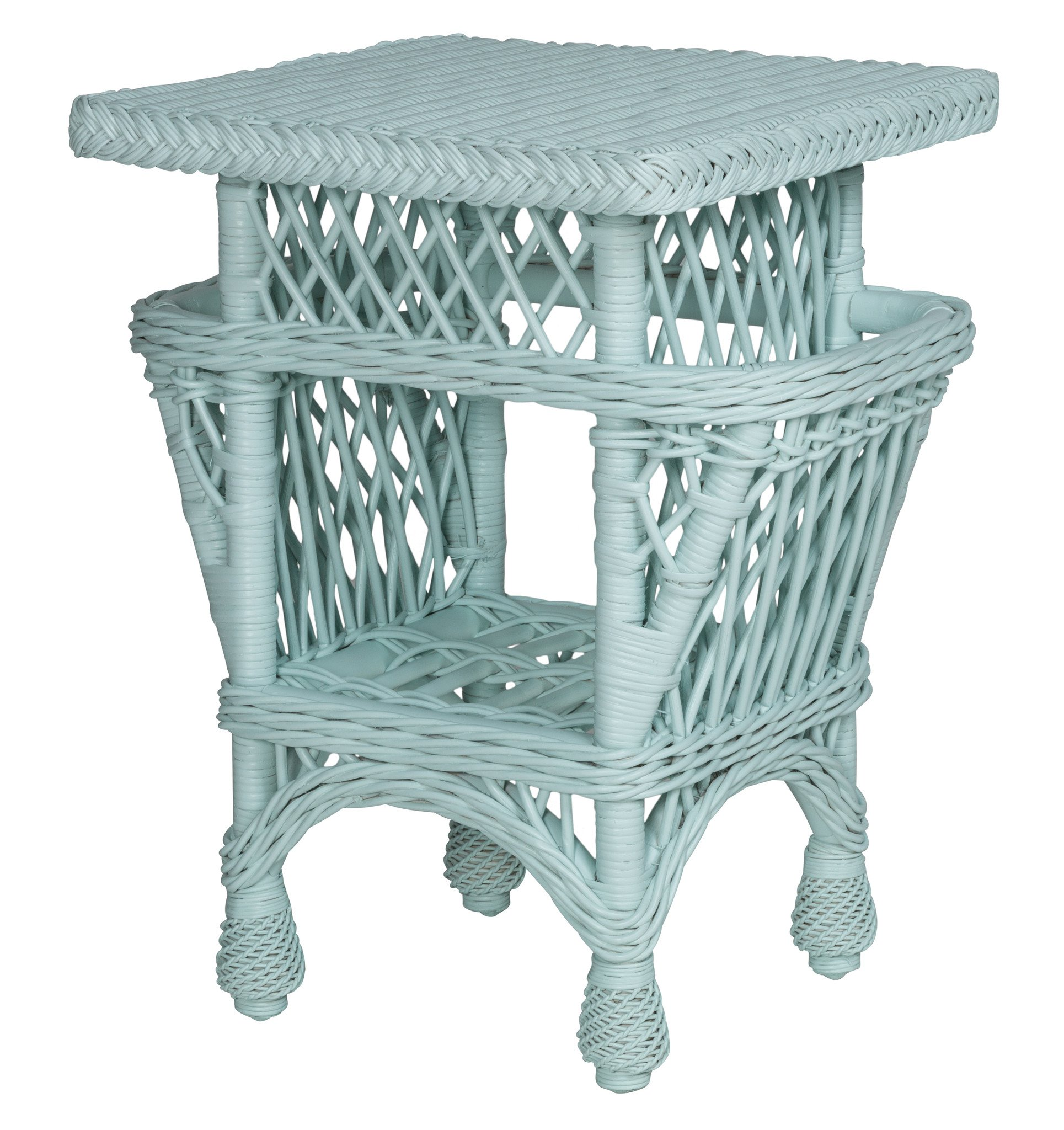 harbor front accent table with pockets designer wicker tribor light blue mango chest drawers pink chandelier lamp distressed holiday placemats and napkins west elm office chair