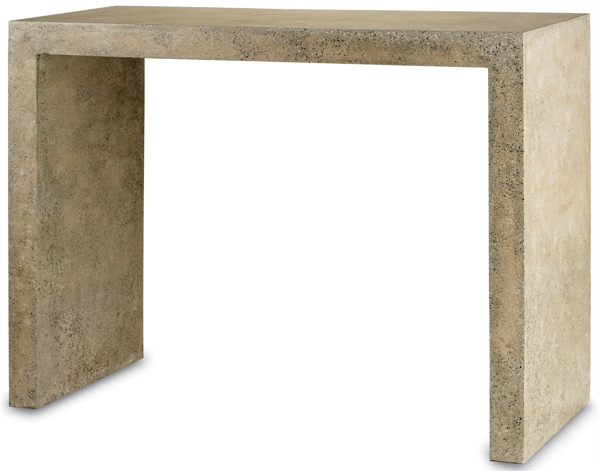 harewood faux bois console accent table currey and company outdoor concrete lounge room soccer game dark cherry wood end tables inch furniture legs marble top coffee breakfast bar