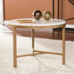 harper blvd garzeaux champagne ivory marble accent table free shipping today modern side lamp kitchen door knobs ikea kids storage diy narrow console windham coffee bronze blue 150x150