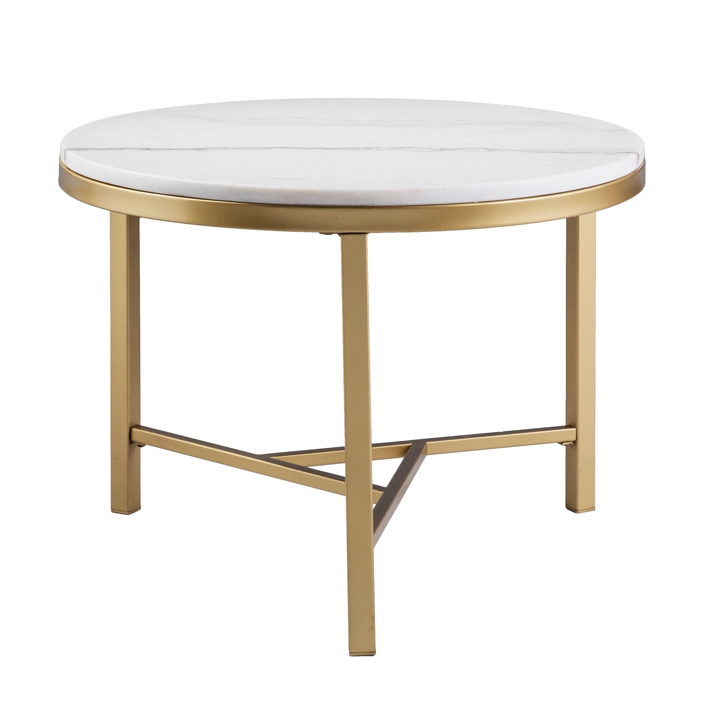 harper blvd garzeaux champagne ivory marble accent table gold round wood and metal free shipping today teal placemats napkins small student desk pine end tablecloth for bronze