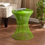 harper blvd kayden indoor outdoor green metal accent table upton home free shipping today coffee tables and contemporary round ikea chairs small brass glass ethan allen windsor 150x150