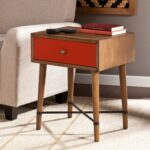 harper blvd niles red accent table free shipping today wood rustic couch inch round tablecloth white rectangle coffee side with drawers living room lateral file cabinet chic end 150x150